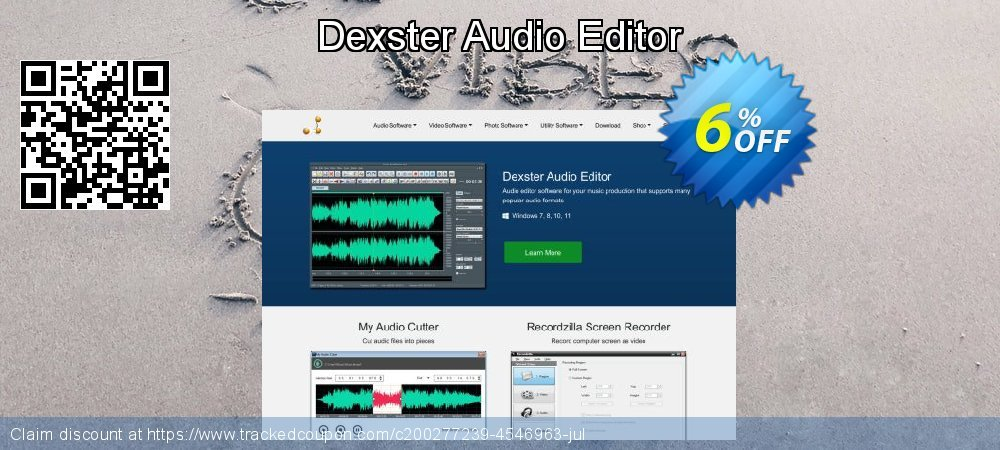 Dexster Audio Editor coupon on Valentines Day super sale