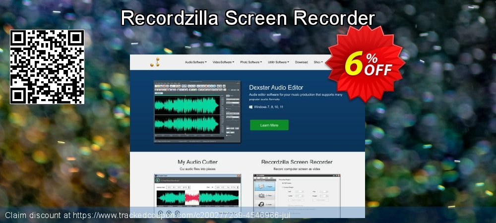Recordzilla Screen Recorder coupon on  Lover's Day sales