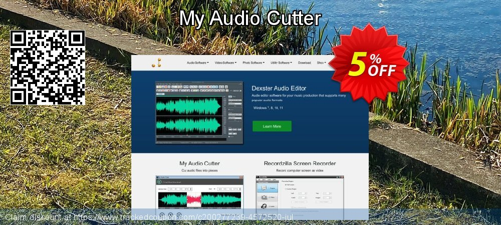 My Audio Cutter coupon on Valentine Week discount