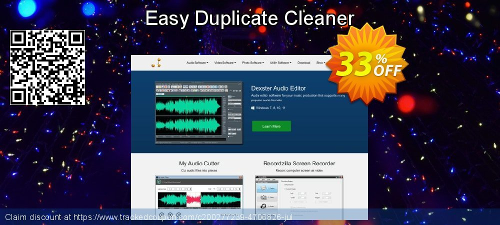Easy Duplicate Cleaner coupon on  Lover's Day offer