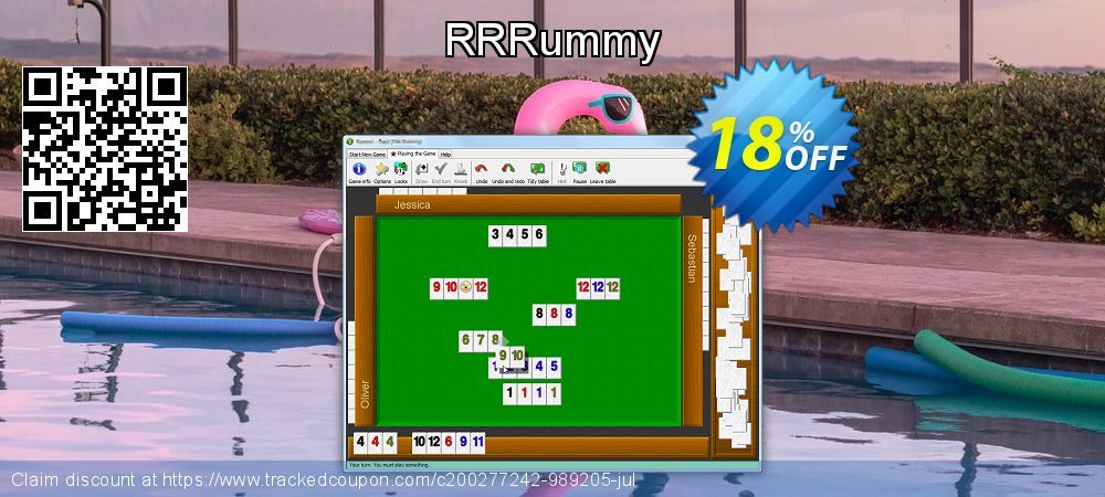 RRRummy coupon on American Chess Day discount