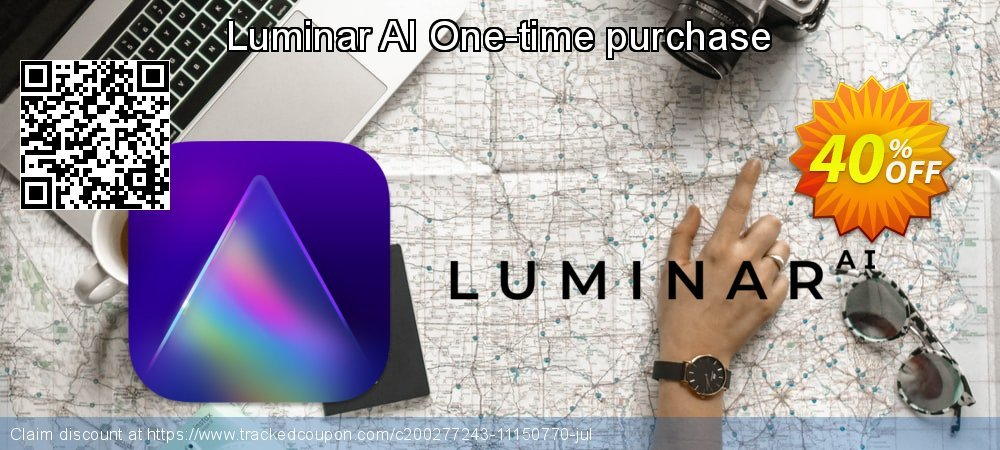 Luminar AI One-time purchase coupon on Lazy Mom's Day offer