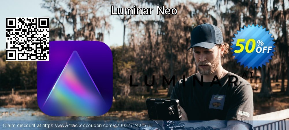 Luminar Neo coupon on National Family Day discount