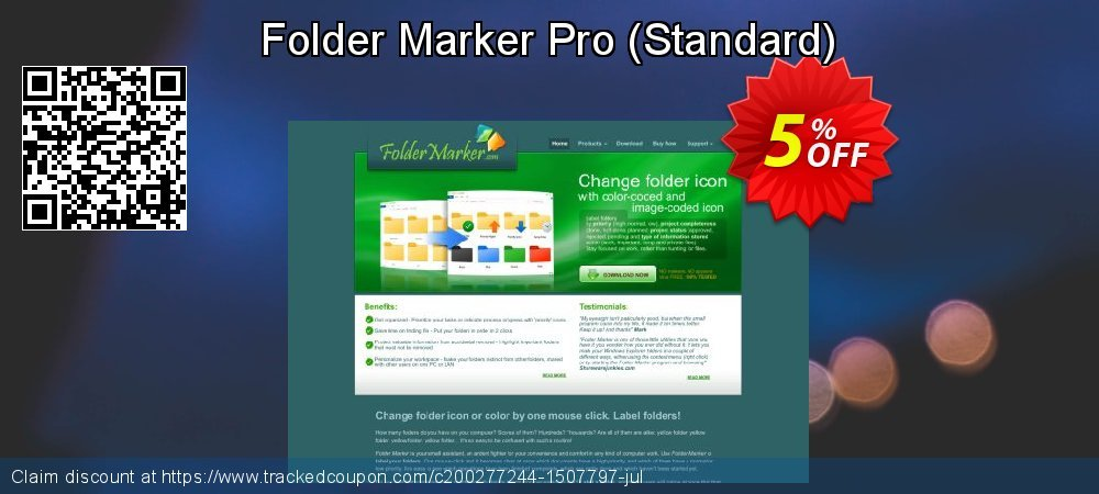 Folder Marker Pro - Standard  coupon on Read Across America Day offer