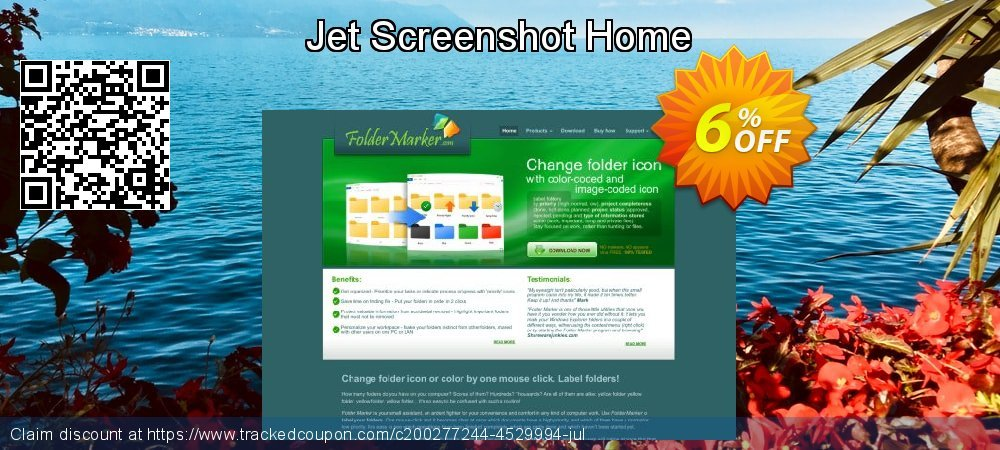 Jet Screenshot Home coupon on Valentine's Day discounts