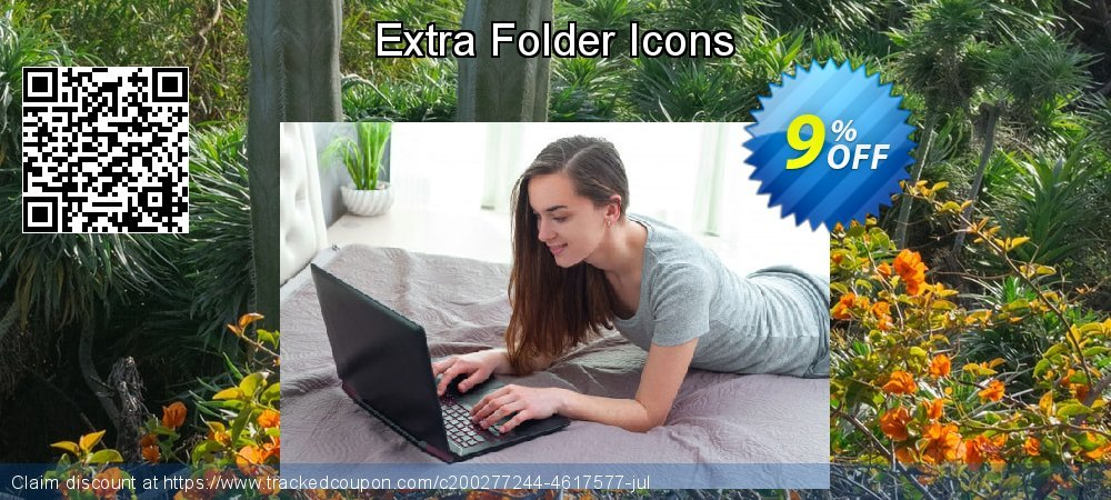 Extra Folder Icons coupon on Super bowl offer