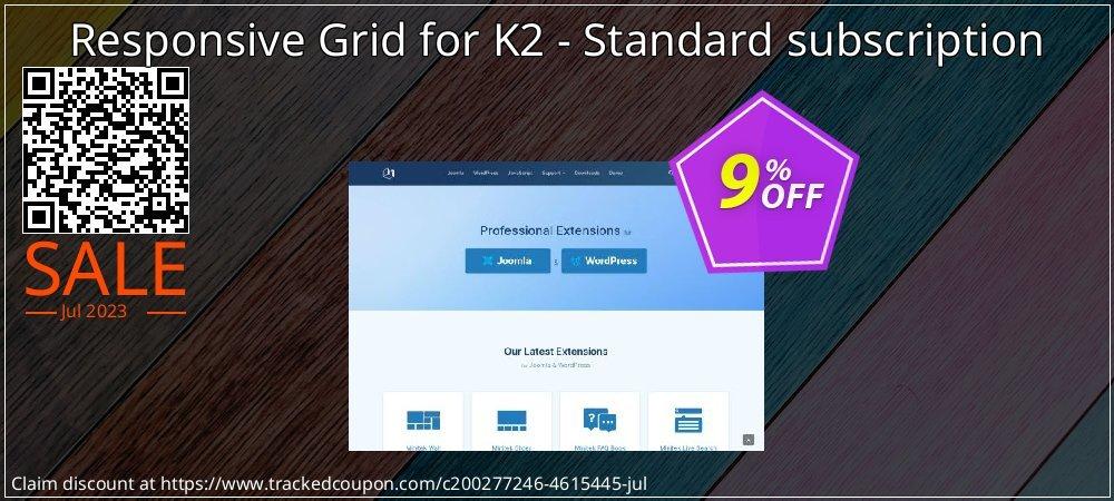 Responsive Grid for K2 - Standard subscription coupon on Natl. Doctors' Day super sale