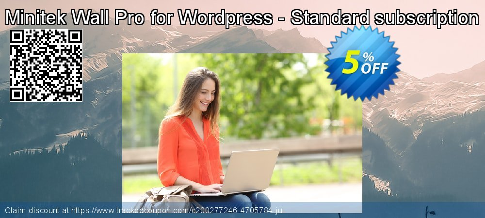 Minitek Wall Pro for Wordpress - Standard subscription coupon on Valentine's Day offer