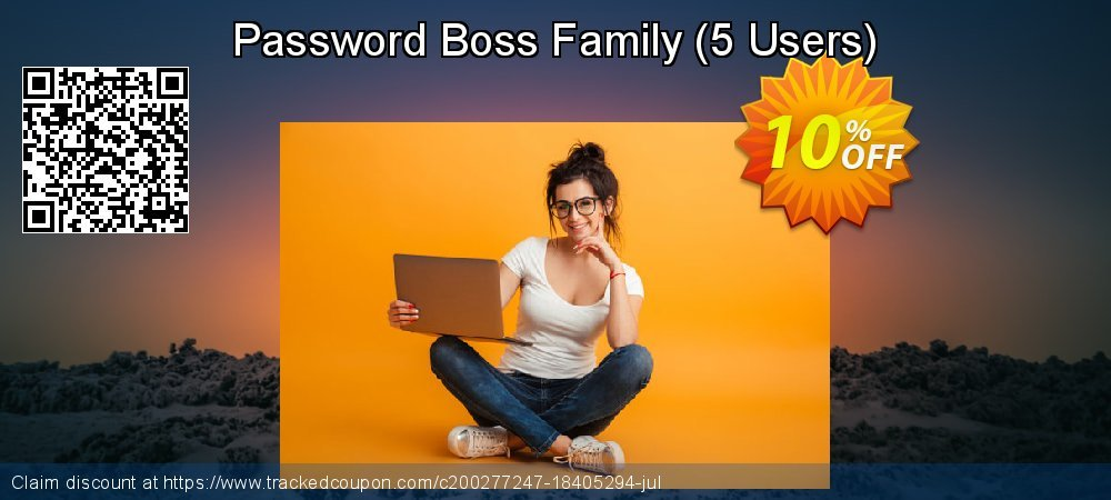 Password Boss Family - 5 Users  coupon on Cheese Pizza Day promotions