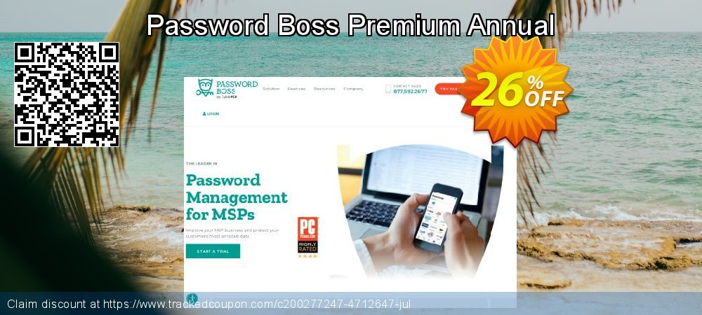 Password Boss Premium Annual coupon on Super bowl promotions