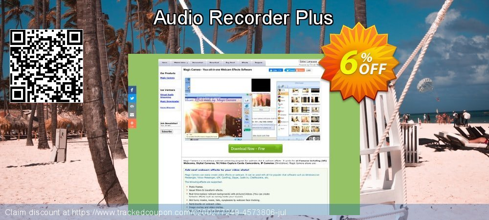 Audio Recorder Plus coupon on Int'l. Women's Day offering discount