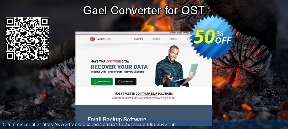Claim 50% OFF Gael Converter for OST - Standard License Coupon discount January, 2020
