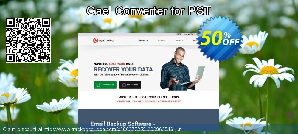 Claim 50% OFF Gael Converter for PST - Standard License Coupon discount January, 2020