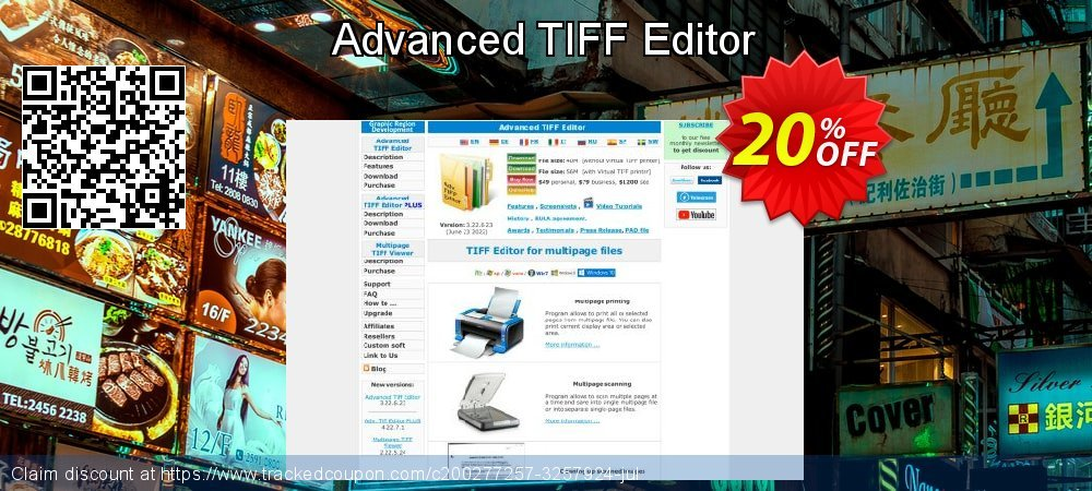 Advanced TIFF Editor coupon on Halloween sales