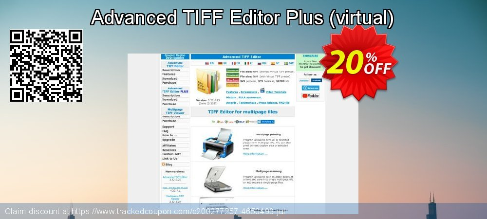 Advanced TIFF Editor Plus - virtual  coupon on Valentine's Day super sale