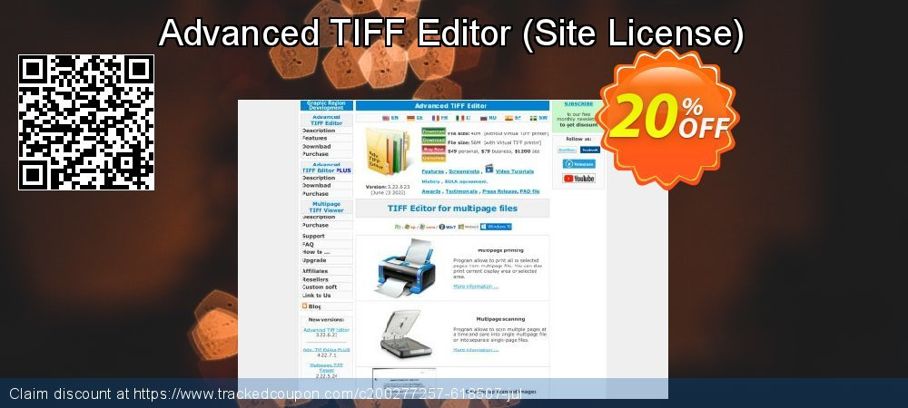 Advanced TIFF Editor - Site License  coupon on Valentine Week offering sales