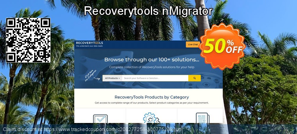 Claim 50% OFF nMigrator - Standard License Coupon discount February, 2020