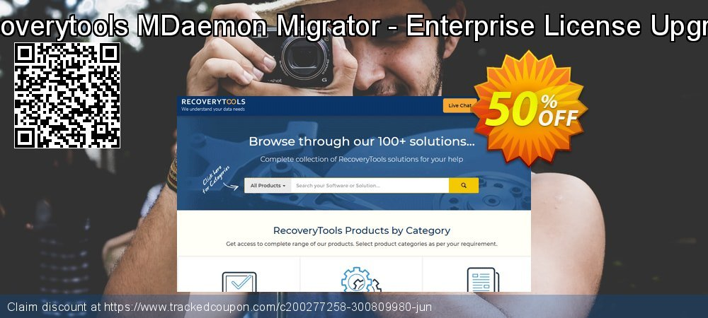 Recoverytools MDaemon Migrator - Enterprise License Upgrade coupon on Grandparents Day offering sales