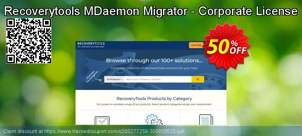 Recoverytools MDaemon Migrator - Corporate License coupon on Cheese Pizza Day discount