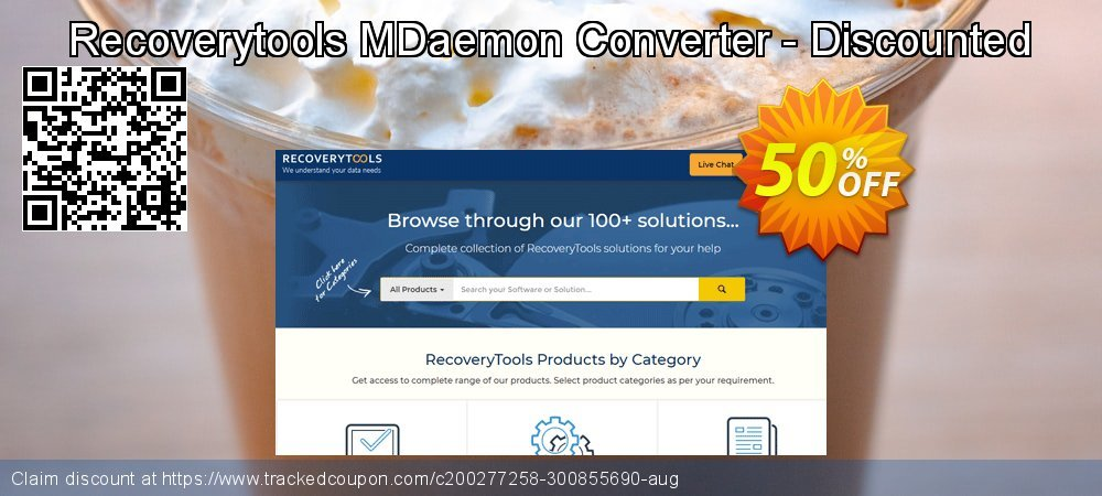 Claim 50% OFF Recoverytools MDaemon Converter - Discounted Coupon discount June, 2020