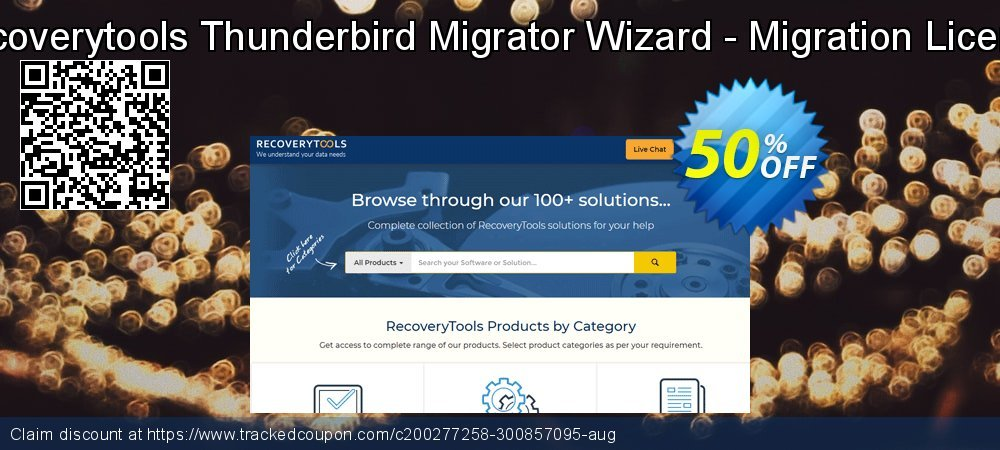 Recoverytools Thunderbird Migrator Wizard - Migration License coupon on Autumn offering sales