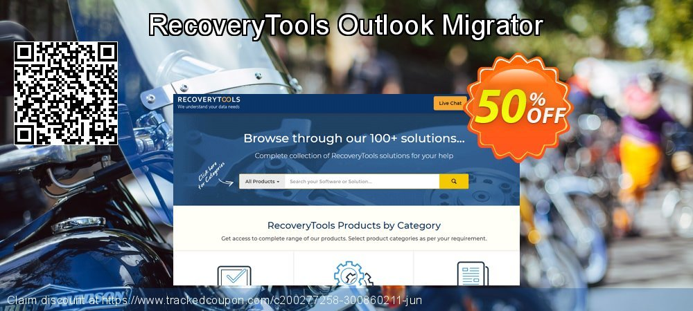 RecoveryTools Outlook Migrator coupon on World Oceans Day offering discount