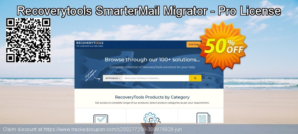 Claim 50% OFF Recoverytools SmarterMail Migrator - Pro License Coupon discount April, 2020