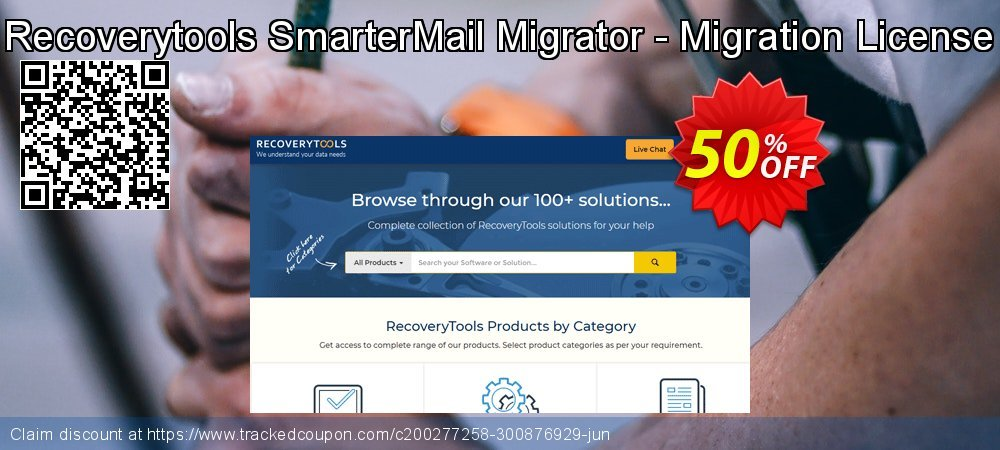 Recoverytools SmarterMail Migrator - Migration License coupon on IT Professionals Day discount
