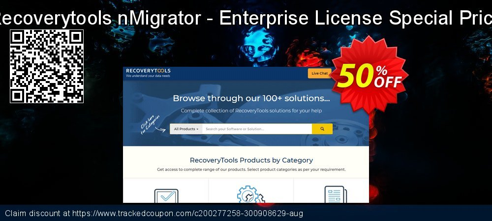 Claim 50% OFF nMigrator - Enterprise License Special Price Coupon discount February, 2020