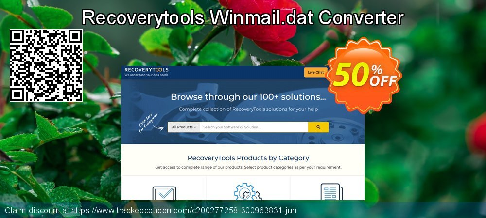 Recoverytools Winmail.dat Converter coupon on National Cleanup Day deals