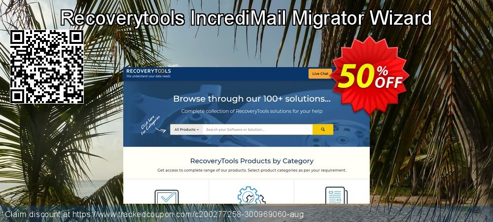 Recoverytools IncrediMail Migrator Wizard coupon on Nude Day promotions