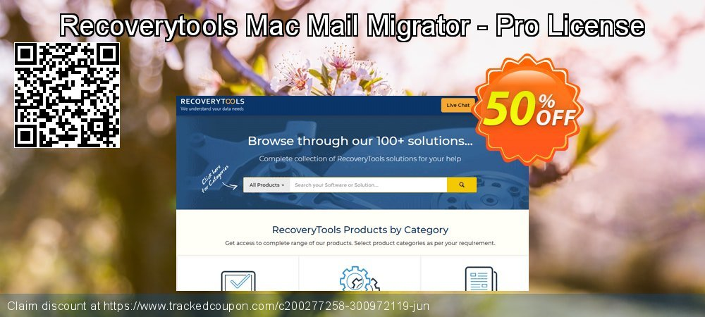 Get 50% OFF Recoverytools Mac Mail Migrator - Pro License offering sales