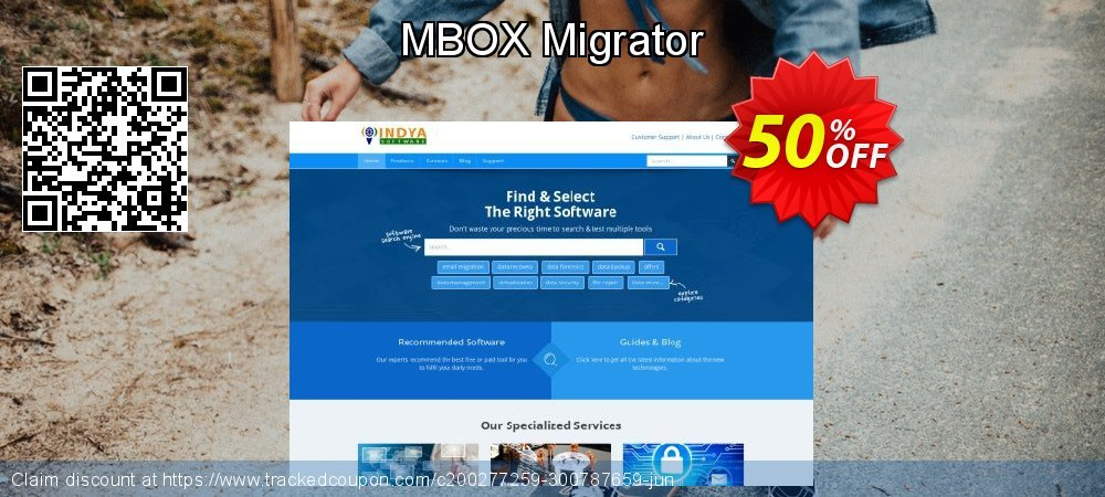 MBOX Migrator coupon on Lazy Mom's Day offering sales
