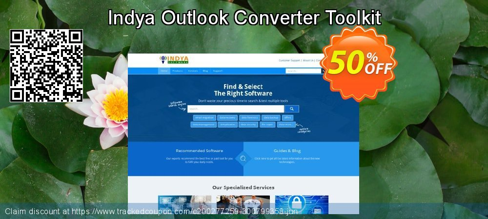 Indya Outlook Converter Toolkit coupon on Halloween offering sales