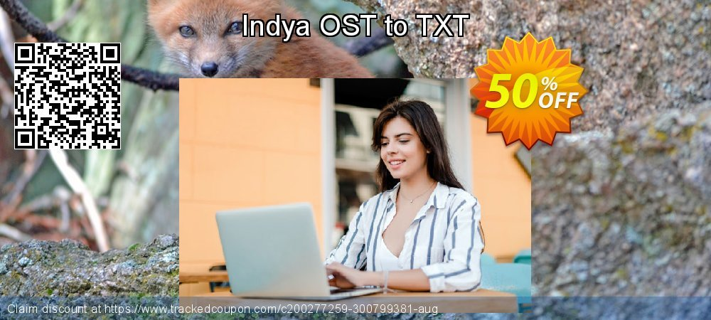 Get 50% OFF Indya OST to TXT discount