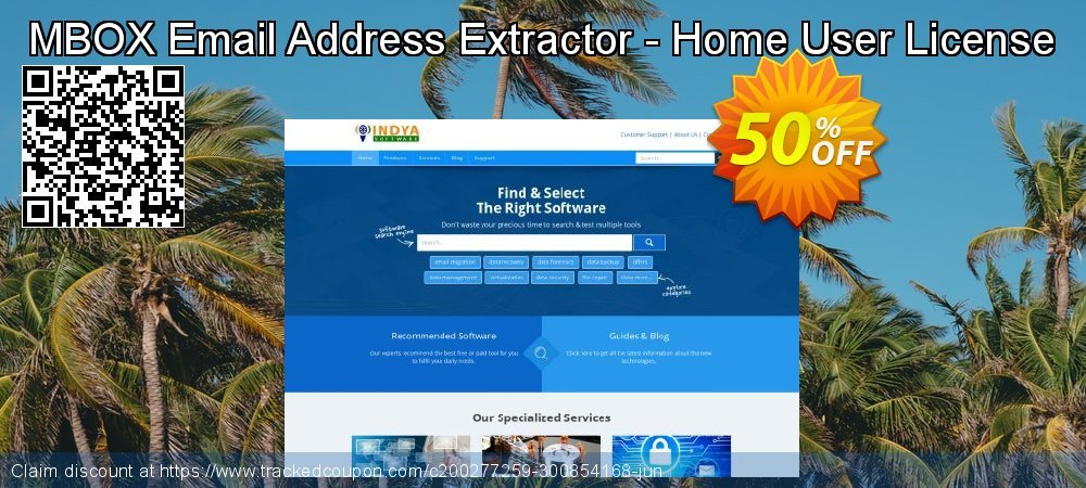 Claim 50% OFF MBOX Email Address Extractor - Home User License Coupon discount February, 2020