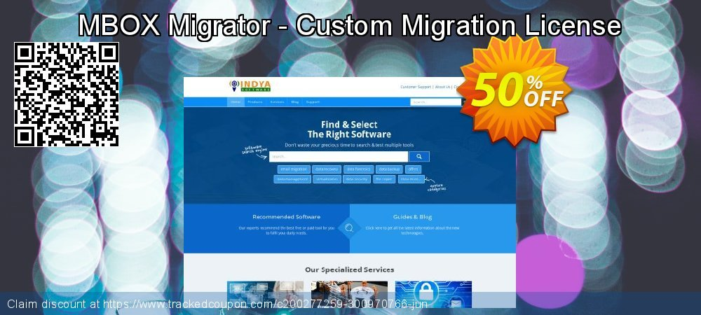 Claim 50% OFF MBOX Migrator - Custom Migration License Coupon discount September, 2020