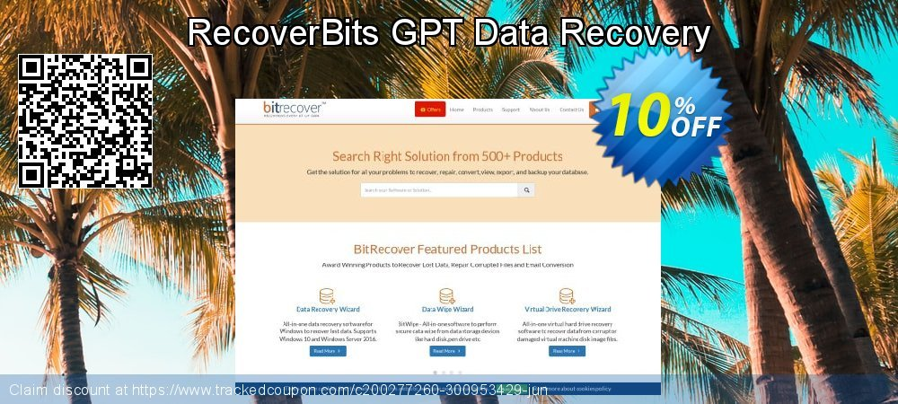 RecoverBits GPT Data Recovery coupon on Grandparents Day offering sales