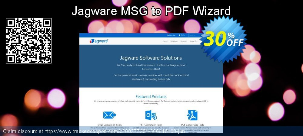 Jagware MSG to PDF Wizard coupon on Talk Like a Pirate Day offer
