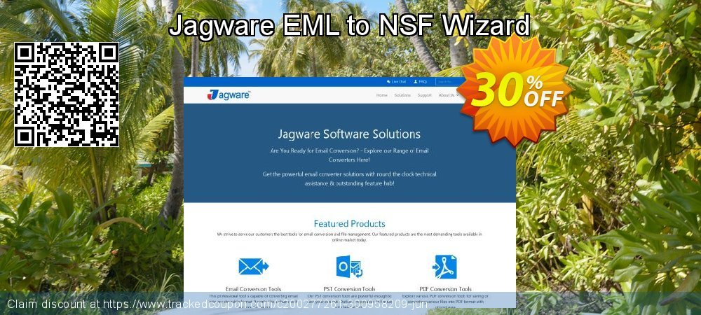 Jagware EML to NSF Wizard coupon on Mid-Autumn Moon discounts