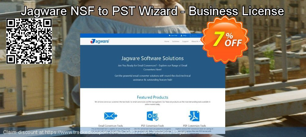 Jagware NSF to PST Wizard - Business License coupon on American Chess Day deals