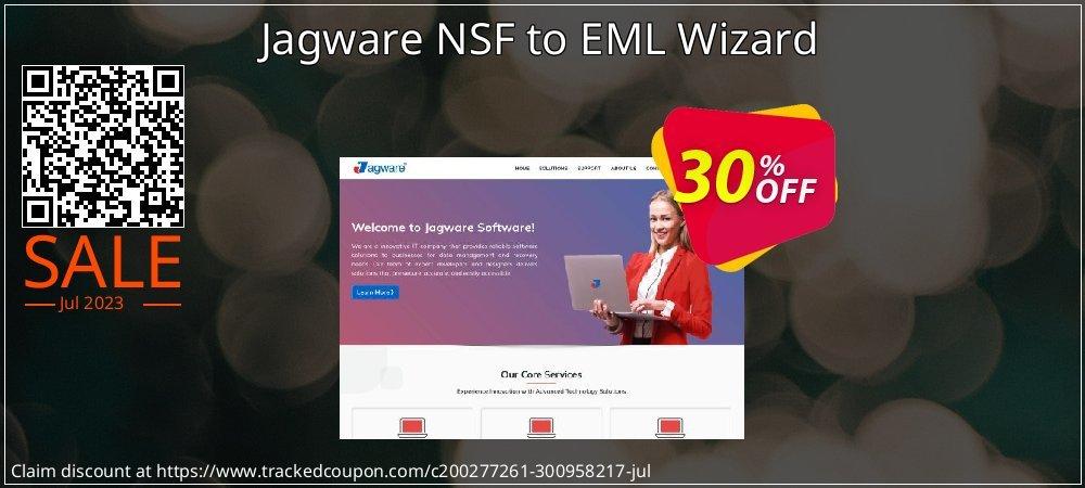 Get 29% OFF Jagware NSF to EML Wizard offering sales