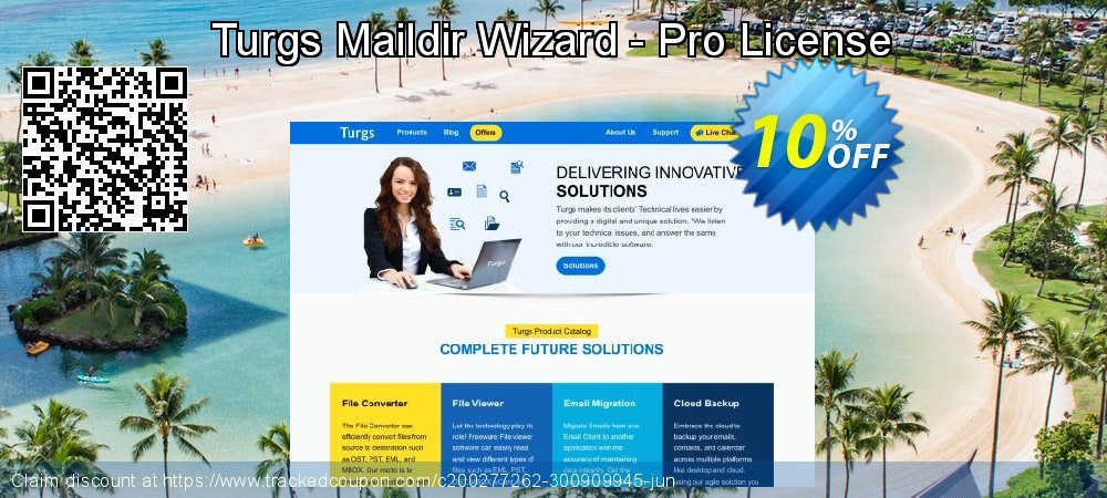 Turgs Maildir Wizard - Pro License coupon on World Bollywood Day offer