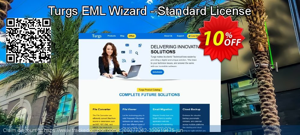 Turgs EML Wizard - Standard License coupon on Native American Day deals