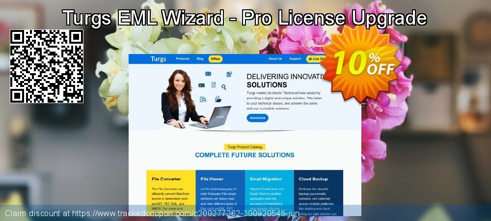 Claim 10% OFF Turgs EML Wizard - Pro License Upgrade Coupon discount May, 2020