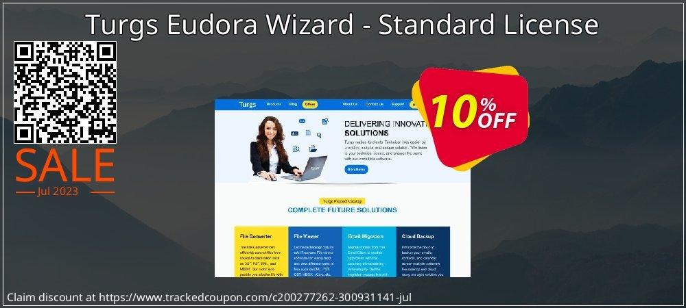 Get 10% OFF Turgs Eudora Wizard - Standard License sales