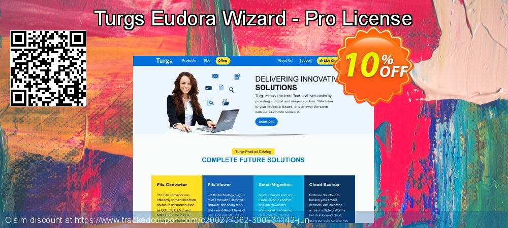 Get 10% OFF Turgs Eudora Wizard - Pro License offering sales