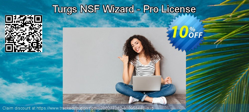 Turgs NSF Wizard - Pro License coupon on World Bollywood Day promotions