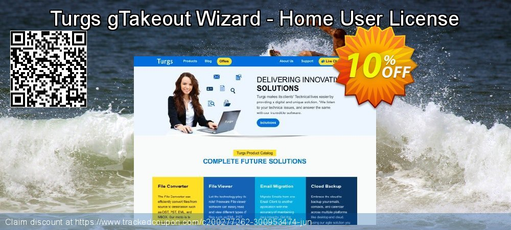 Turgs gTakeout Wizard - Home User License coupon on Autumn discounts