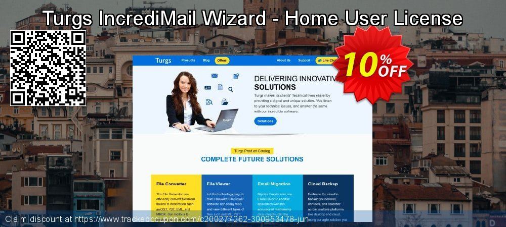 Turgs IncrediMail Wizard - Home User License coupon on American Chess Day offer